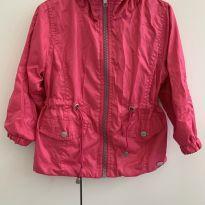casaco nylon pink - 2 anos - Mimo & co