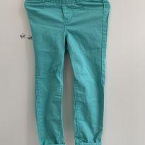 Calça jeggings azul turquesa - 5 anos - Old Navy