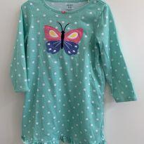 Camisola verde borboleta - 2 anos - Carter`s