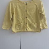 Casaquinho tricot amarelo Zara - 18 a 24 meses - Zara Baby