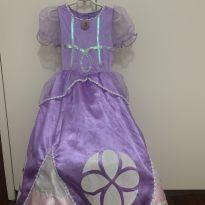 Fantasia princesinha Sofia - 3 anos - Disney