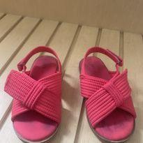 Sandália pink ZARA - 25 - Zara Baby