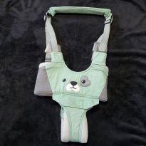 Andador suspenso manual e portátil para bebê cachorrinho verde (pouco usado) -  - Não informada