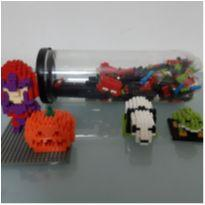 Miniblocos 3d para montar peças avulsas, + de 8 anos (peças muito pequenas)! -  - Diversas