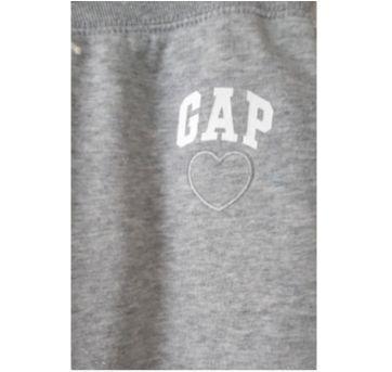 Calça Gap Moletom Flanelado - 8 anos - GAP