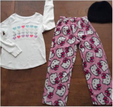 Lote de roupas menina 7-8 anos, importadas - 7 anos - Place e DC Comics