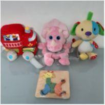 kit brinquedos pelucia e encaixe -  - Yoyo Books e Love