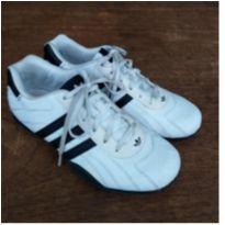 Tênis Sapatênis Chuteira Futsal Adidas Ortholite Couro Branco Número 36