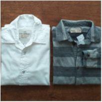 Kit 2 Camisas Menino (Zara + Palomino), Tam. 6 anos - 6 anos - Zara e Palomino