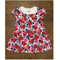 Vestido Gymboree Floral, 12-18 Meses - 12 a 18 meses - Gymboree
