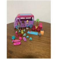 Trailer da Polly Pocket + 3 Polly -  - Mattel