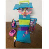 Camarim/Boombox Móvel da Polly Pocket -  - Mattel