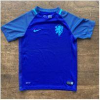 Camisa Nike Holanda Azul/Roxa, 10 - 10 anos - Nike