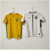 Kit 2 Camisetas Nike Futebol, 12-13 - 12 anos - Nike