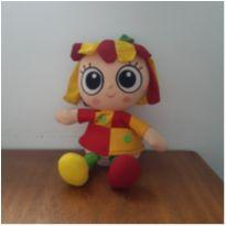 Boneca Emília Sítio do Pica-Pau Amarelo Pelúcia -  - Grow