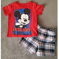 Conjunto importado Mickey - 1 ano - Disney
