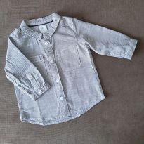 Camisa social H&M - 3 a 6 meses - H&M
