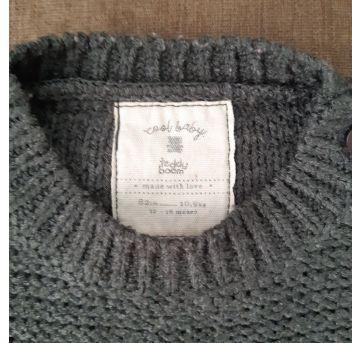 Blusão de lã Gatinho - 12 a 18 meses - Teddy Boom