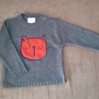 Blusão de lã Gatinho