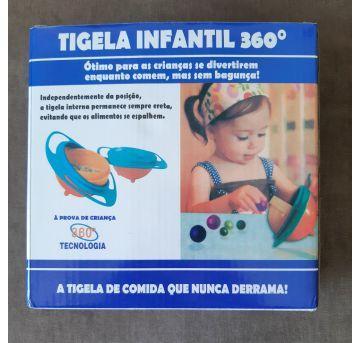 Tigela infantil 360º C - Sem faixa etaria - Não informada