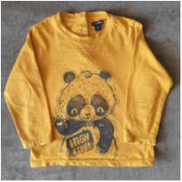 Camiseta manga longa Panda - 2 anos - Kiabi