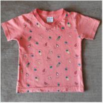 Camiseta frutas - 1 ano - Desayner