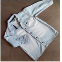 Camisa jeans estilosa manga longa - 1 ano - PUC