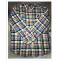 Camisa social xadrez ralph Lauren 10-12 - 11 anos - Ralph Lauren