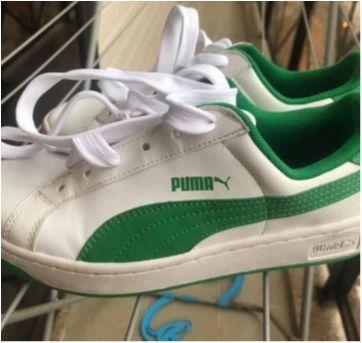 Tênis puma novo, sem uso, unissex, couro - 35 - Puma
