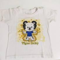 CAMISETA TIGOR - TAM. 2P - 2 anos - Tigor T.  Tigre e Tigor Baby
