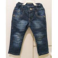 Calça Jeans Tam. 1 - 18 a 24 meses - Não informada