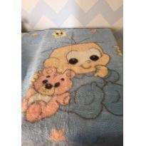 Cobertor de pelo acrílico do Cebolinha -  - jolitex