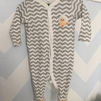 Macacão pintinho - 0 a 3 meses - Baby Club
