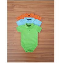 Camisa polo body - 12 a 18 meses - Jumping Beans