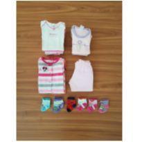 Kit bebê - 0 a 3 meses - Carter`s e Bicho Molhado