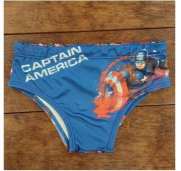 SUNGA  CAPITÃO AMÉRICA - 6 anos - Avengers