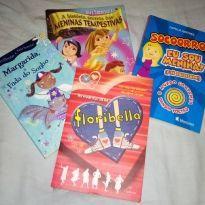 Kit com 4 livros infanto-juvenis -  - Ciranda Cultural