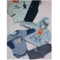 Lote inverno Bebê menino - 9 a 12 meses - Brandili e Randa Mundu
