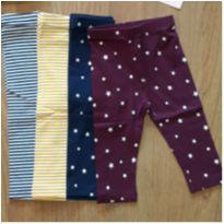 Legging Old Navy - 12 a 18 meses - Old Navy