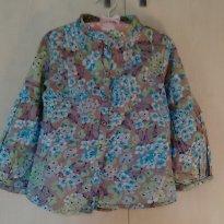 Bata Floral Zara (3/4 anos)