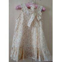 Vestido com Estampa Floral Tyrol - 3 anos - Tyrol