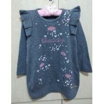 ❤ Suéter com Corações Lilica Ripilica ❤ - 4 anos - Lilica Ripilica