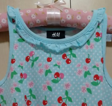 Vestido Cerejas H&M - 3 anos - H&M