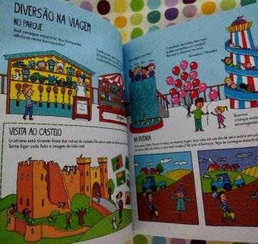 Livro de Atividades Usborne: Jogos e Passatempos para a Viagem - Sem faixa etaria - Outras