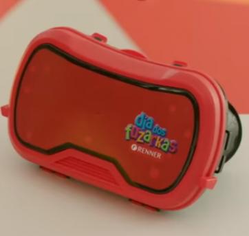 Óculos de Realidade Virtual Fuzarkas Renner - Sem faixa etaria - Renner