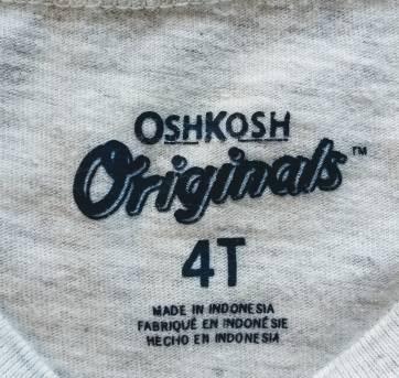 Blusa com Estampa de Coelhinho OshKosh - 4 anos - OshKosh