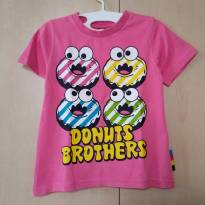 Camiseta Donuts Divertidos Milk Rich