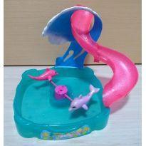 Piscina de Golfinhos da Polly Pocket - Sem faixa etaria - Mattel