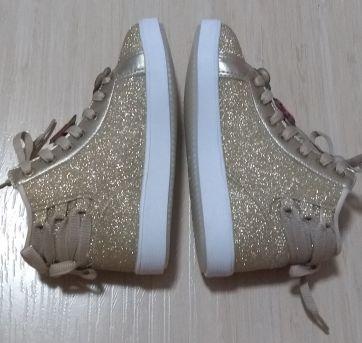 Tênis Sneaker Dourado Pampili - 28 - Pampili