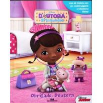 Livro da Doutora Brinquedos com Miniaturas Disney® -  - Editora Melhoramentos